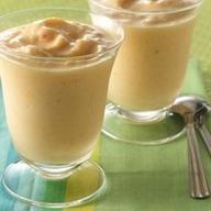 Banánový jogurt s javorovým sirupem