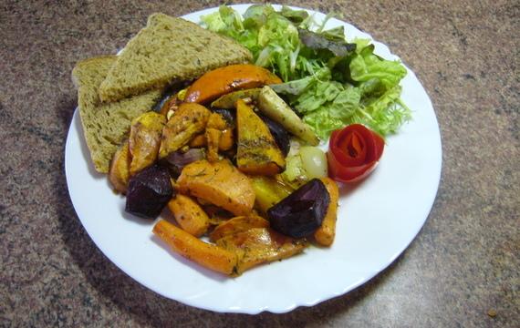 Pečená zimní zelenina