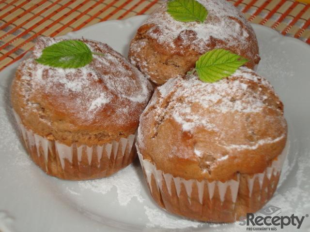 Kakaové muffiny se skořicí