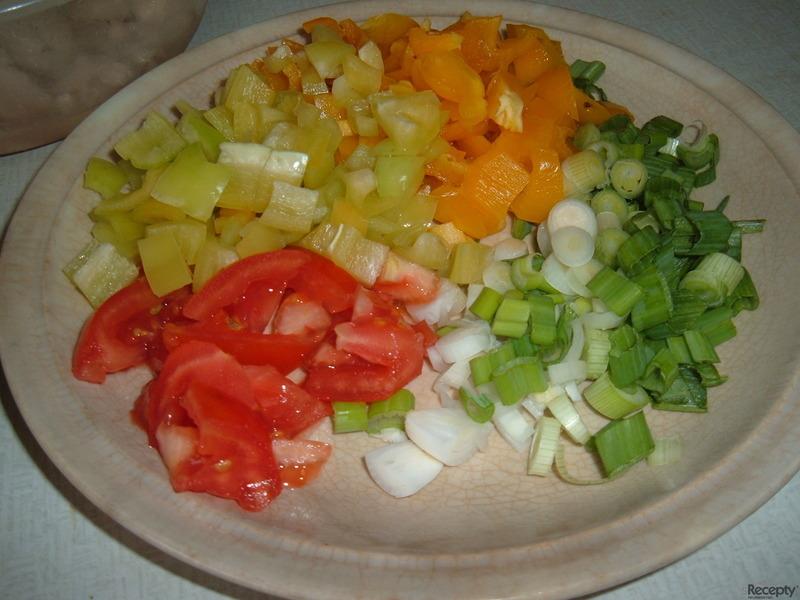 Ostroretka na zelenině a ovoci