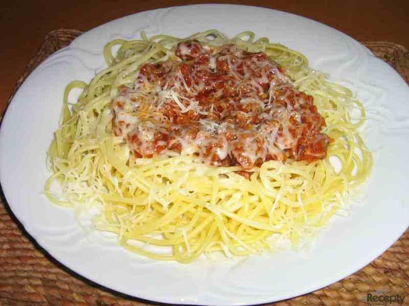 Rychlé špagety