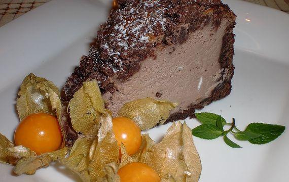 Kakaovo - tvarohový koláč