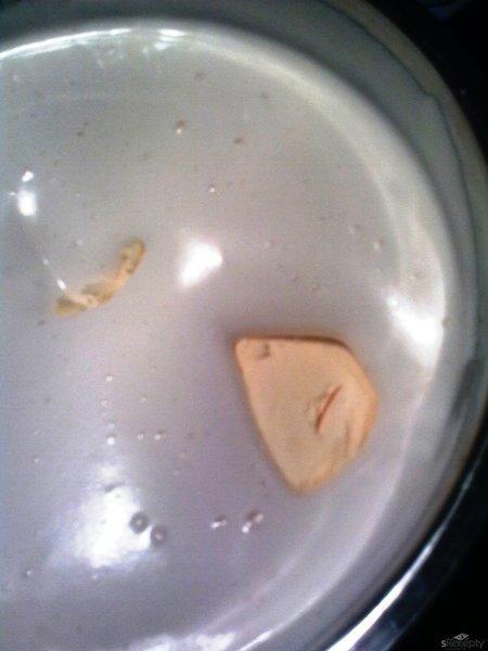 Vařený krém na dort