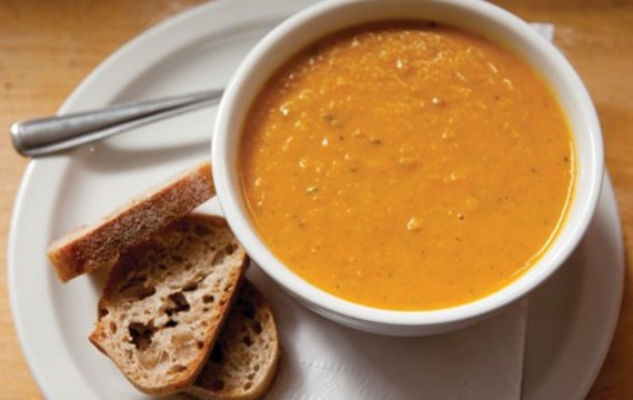 Ostrá čočková polévka s mrkví