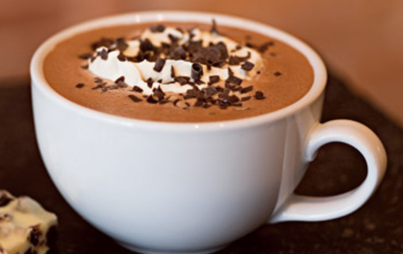 Recept na horkou čokoládu