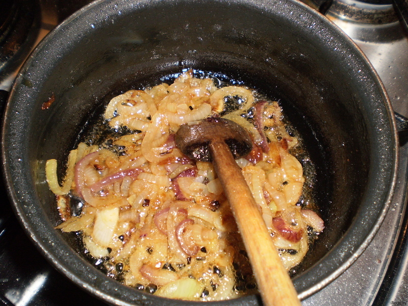 Hermelín s pivní cibulkou