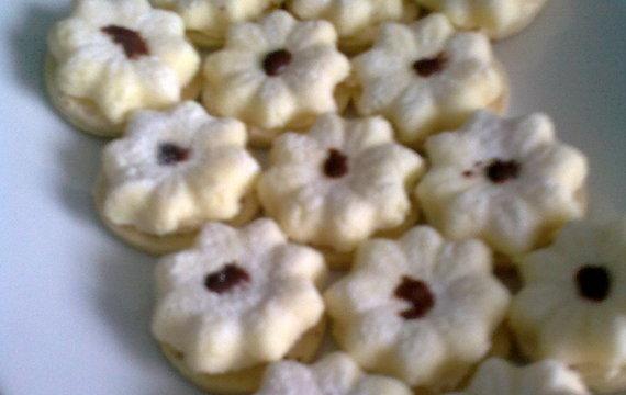 Kytičky se sušeného mléka
