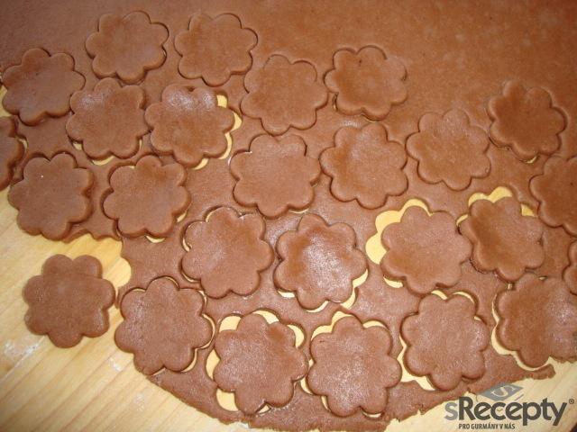 Čokoládové těsto na vánoční cukroví