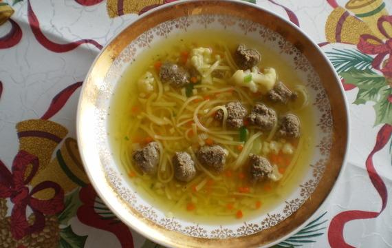 Srdíčková polévka