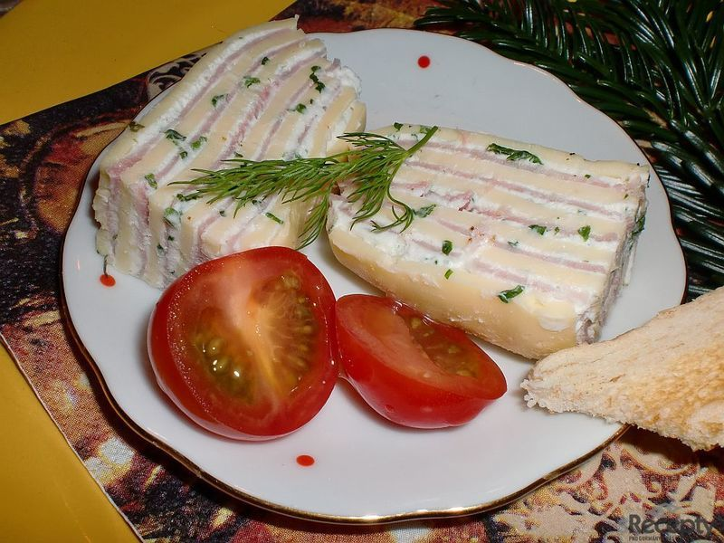 Sýrovo - šunkové řezy