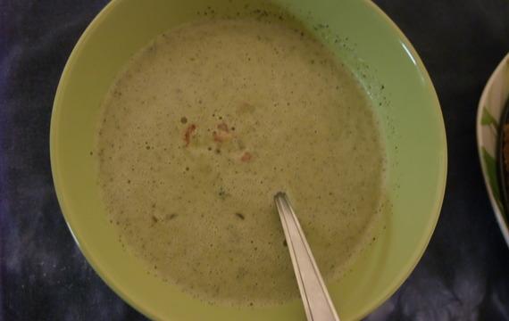 Brokolicová polévka - i pro nejmenší