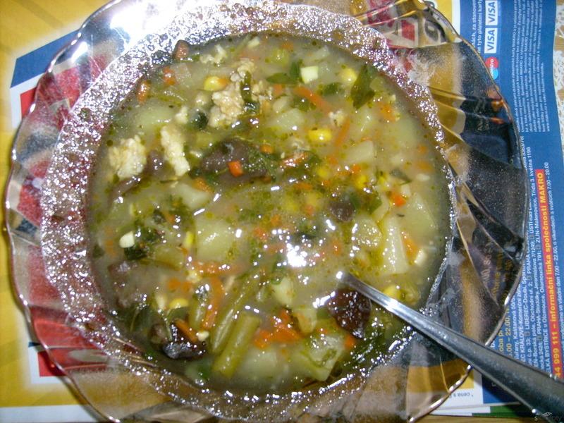 Vylepšená zeleninová polévka