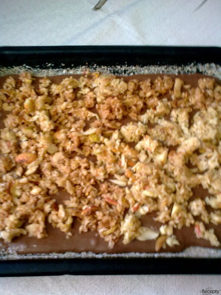 Jablkový koláč od tety Zdeny
