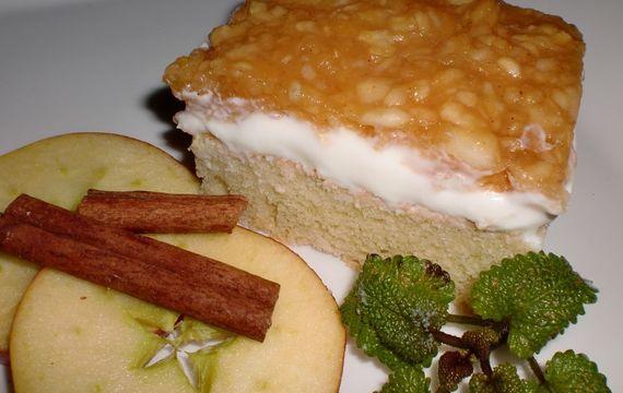 Skleněné jablečné řezy