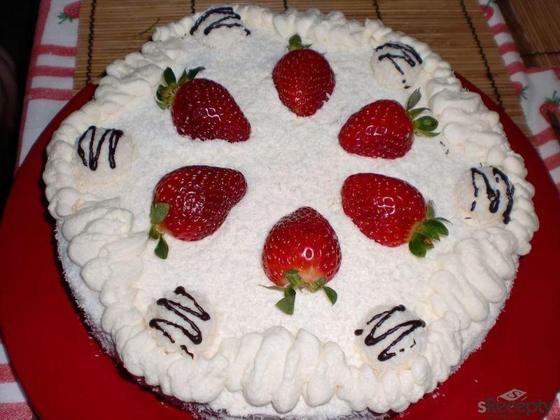 Raffaello dort s jahodami