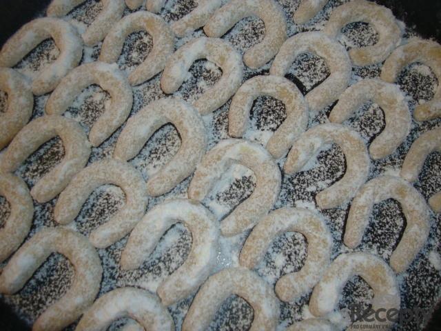 Mandlovo - vanilkové rohlíčky
