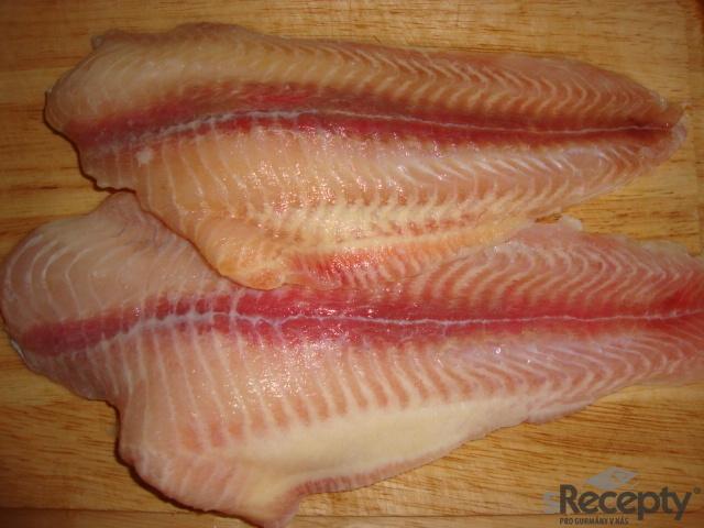 Smažené rybí filety