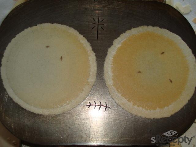 Slané sýrové oplatky