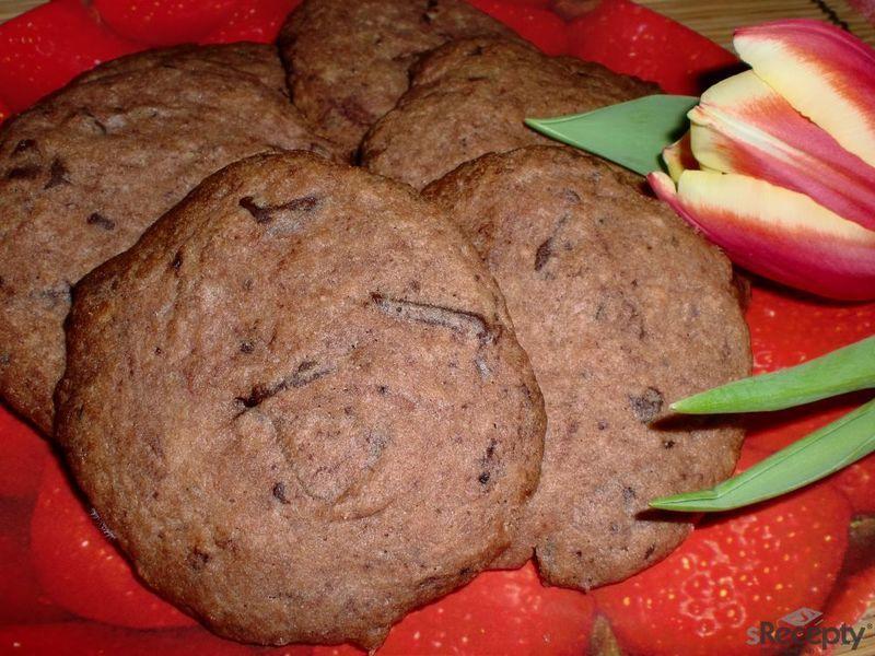 Kakaové sušenky s čokoládou