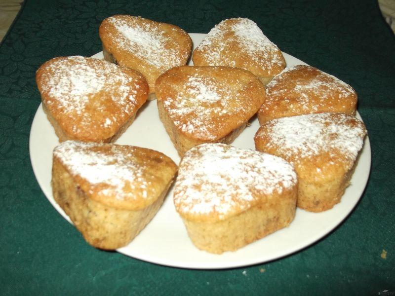 Muffiny s malinovým sirupem