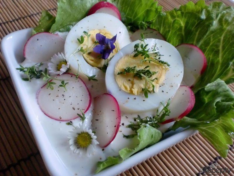 Jarní vaječná miska