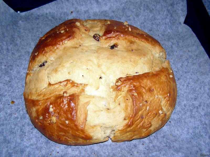 Velikonoční mazanec do domácí pekárny