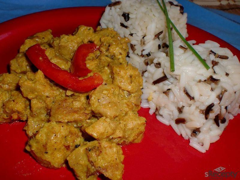 Sojové maso po indicku