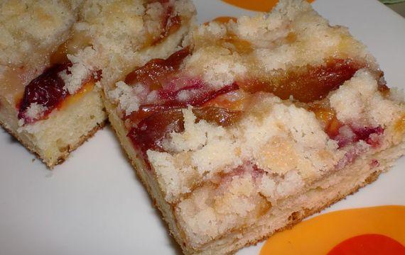 Bleskový ovocný koláč