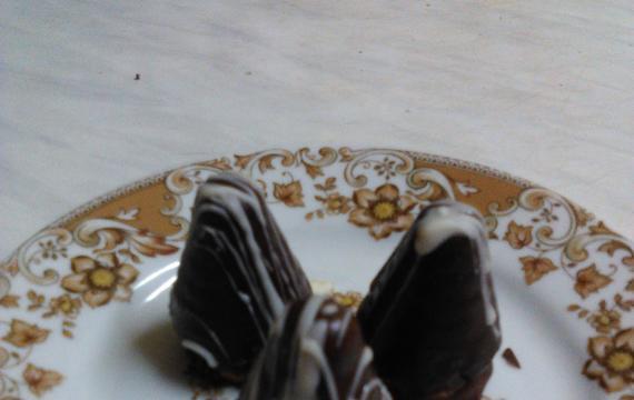 Úlky polité čokoládou