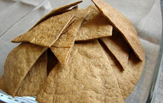 Domácí tortilly chips