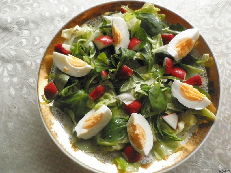 Zeleninový svačinkový salát