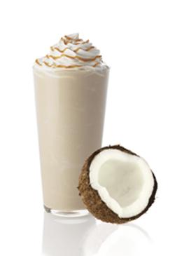 Kokosové frappé