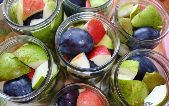 Voňavý ovocný kompot