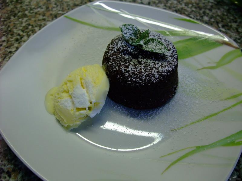 Fondant au chocolat (Čokoládový fondant)