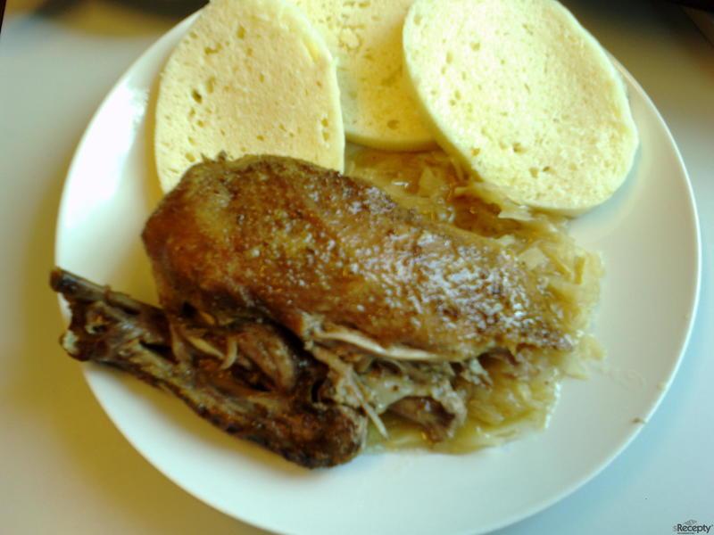 Pečená kachna v sáčku