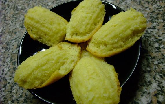 Madeleines au beurre (Madlenky)