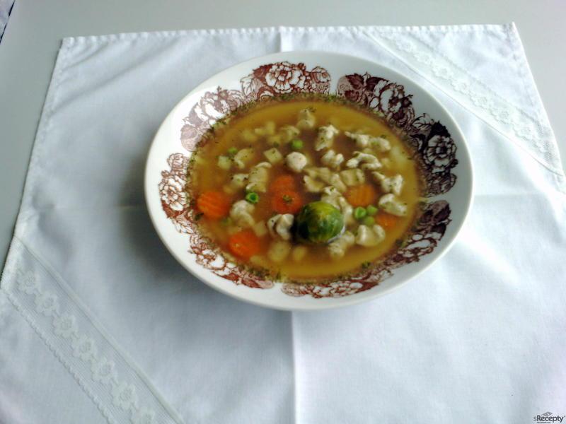 Kvasnicová polévková zavářka