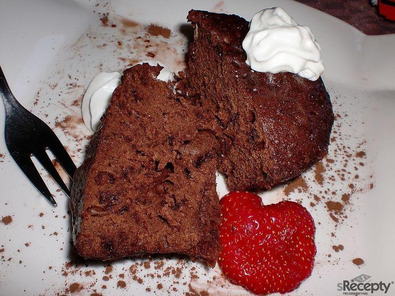 Tříminutový čokoládový dortík