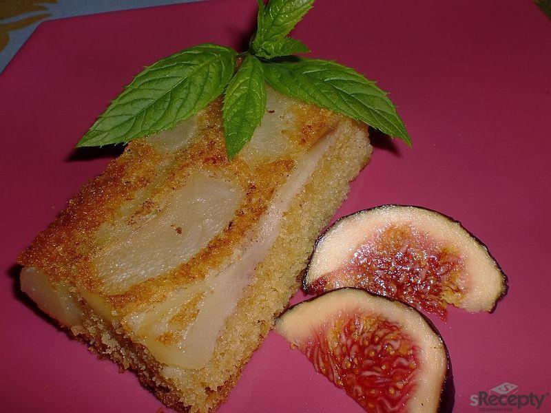 Hruškový koláč francouzské mámy podle Apetitu