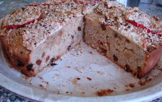 Vyjímečný jablečný dort