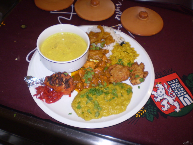 Indická smažená cibule Bhajii