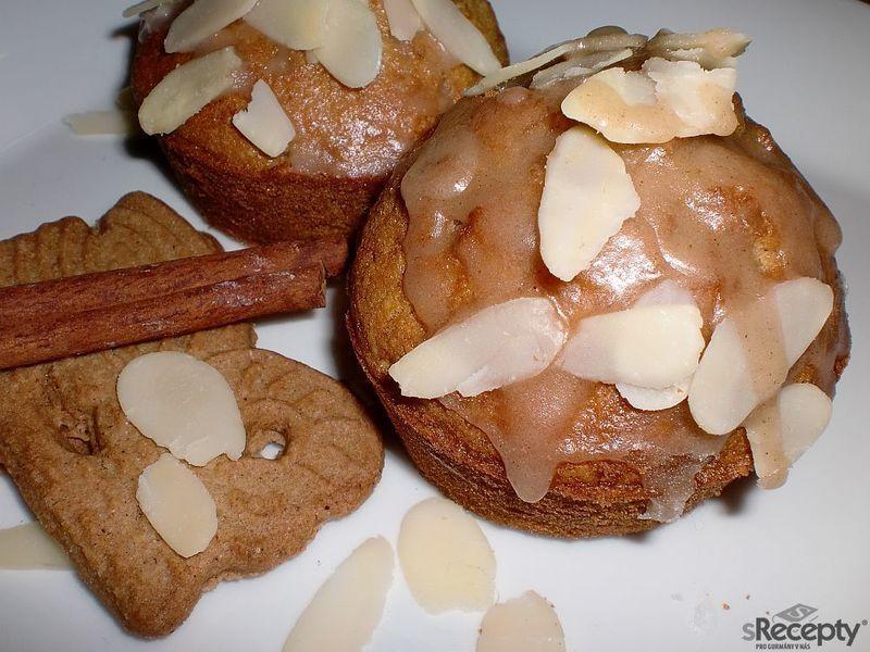 Muffiny Spekulatius s ledovou polevou