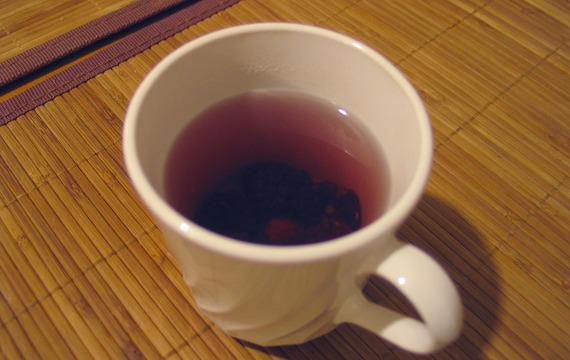 Ostružinový čaj