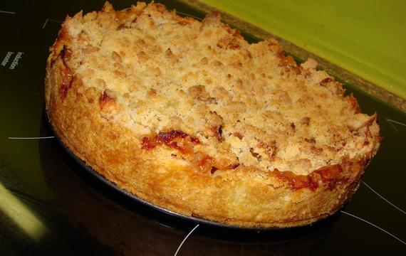 Jablečný páj s drobenkou podle Apetitu