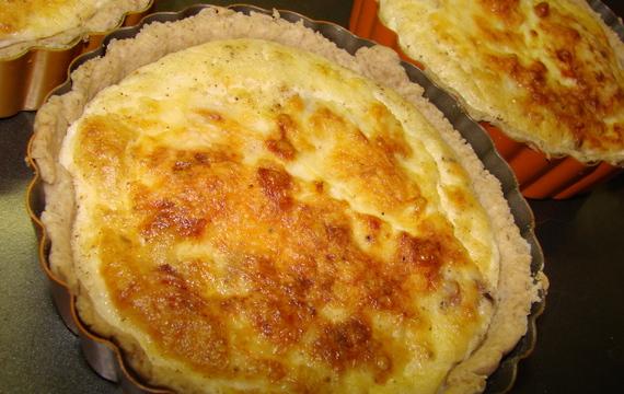 Quiche lorraine (Slaný koláč podle Mirky Slavíkové)