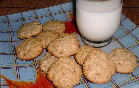 Ovesné sušenky s medem a javorovým sirupem