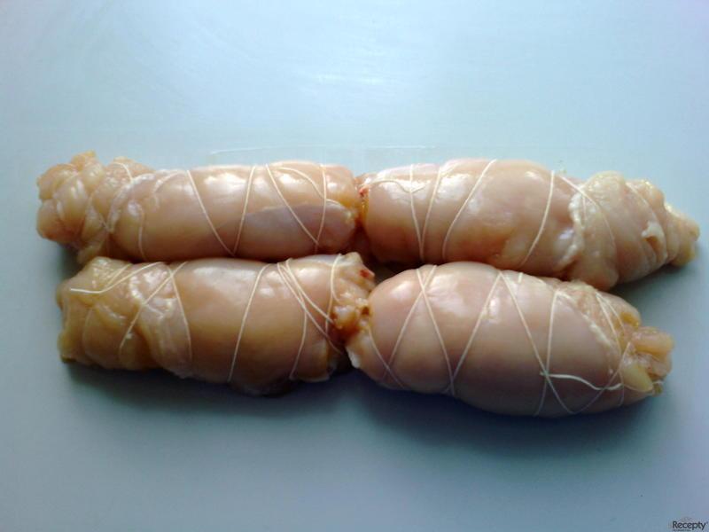 Zapečená kuřecí rolka