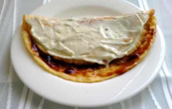 Omeleta s tatarkou
