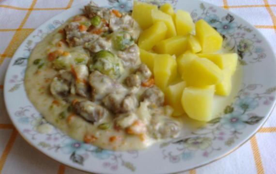 Vepřové maso se zeleninou