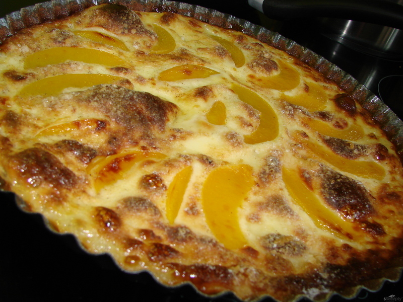 Broskvový Clafoutis od Julie Child